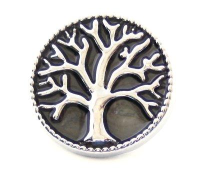 Clicks / Chunks Click levensboom op zwart