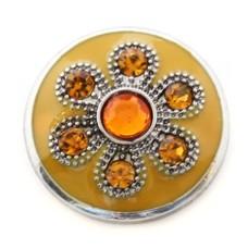 Clicks en Chunks | Click oranje prinses bloem