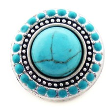 Clicks en Chunks | Click Turquoise steen