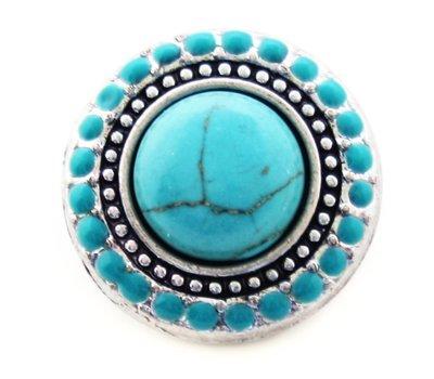 Clicks en Chunks   Click Turquoise steen