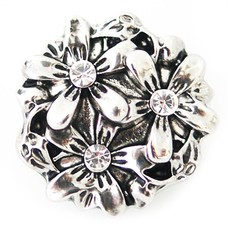 Clicks / Chunks Click flowerbed zilver