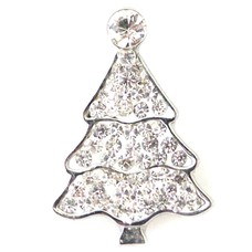 Clicks en Chunks | Click kerstboom wit