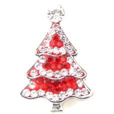 Clicks en Chunks | Click kerstboom rood