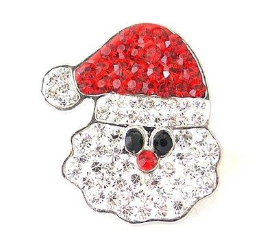 Clicks en Chunks | Click kerstman voor clicks sieraden