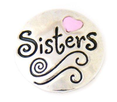 Clicks / Chunks Click sisters zilver