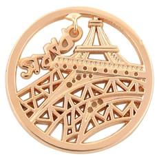 Munt voor Muntketting Eiffeltoren goud