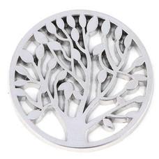 Munt voor Muntketting Levensboom zilver