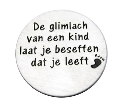 Locket Disks Floating locket disk De glimlach van een kind laat je beseffen dat je leeft