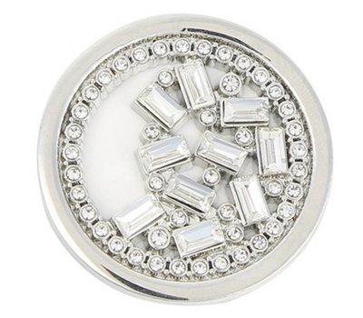 Munt voor Muntketting Puzzel zilver