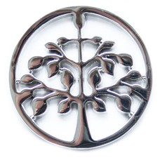 Munt voor Muntketting Tree of life zilver