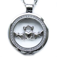Complete Muntketting Open Forever love zilver