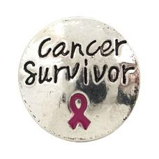 Clicks en Chunks | Click cancer survivor zilver