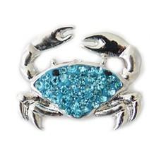 Clicks en Chunks | Click krab blauw zilver