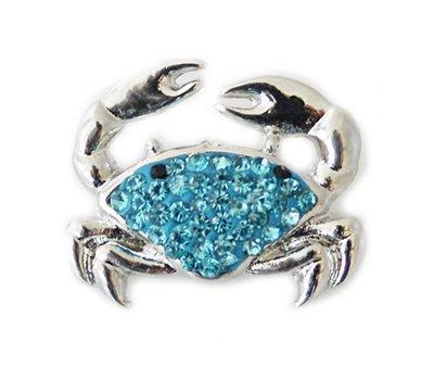 Clicks en Chunks | Click krab blauw voor clicks sieraden