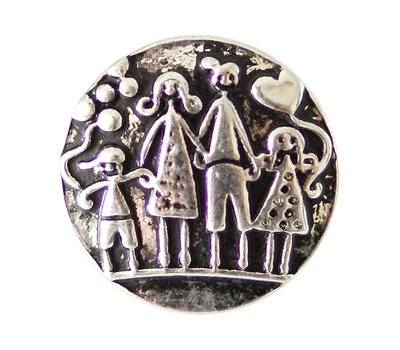 Clicks / Chunks Click gezin zilver