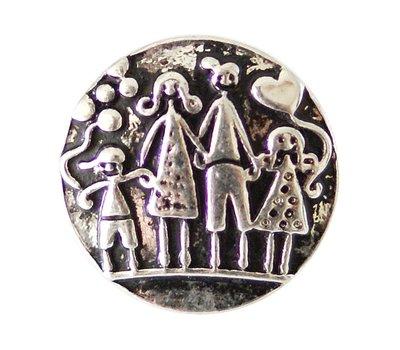 Clicks en Chunks | Click gezin zilver