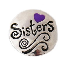 Clicks en Chunks | Click sisters paars hartje