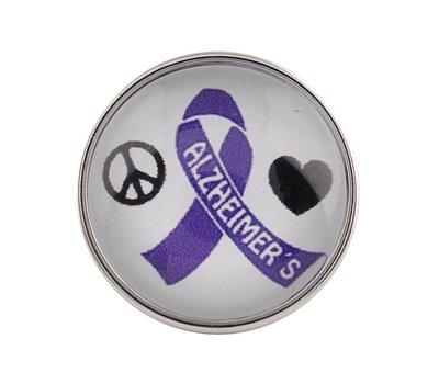 Clicks / Chunks Click Alzheimer ribbon
