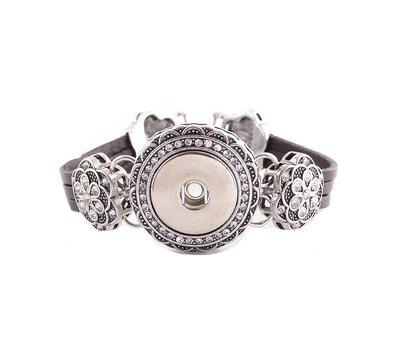 Clicks Sieraden Clicks armband beauty zilver