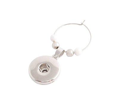 Clicks Sieraden Clicks flessenhals hanger deluxe zilver