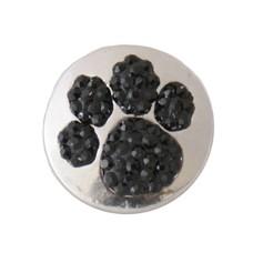 Clicks en Chunks | Click hondenpoot zwarte crystals
