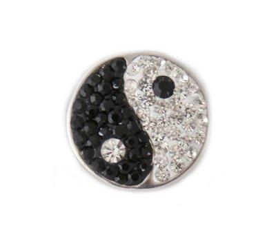 Clicks en Chunks | Click yin yang met crystals voor clicks sieraden