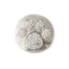 Clicks en Chunks | Click hondenpoot witte crystals