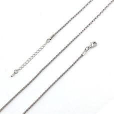 Ketting voor Muntketting Snack ketting zilver van roestvrij staal
