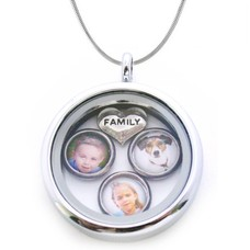 Foto Kettingen Memory locket ketting familie