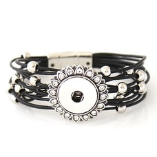 Clicks Sieraden Clicks armband beautiful zwart