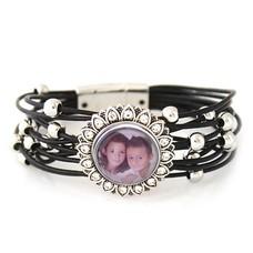 Foto Armbanden Clicks armband beautiful zwart inclusief 1 Foto