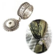 Fotoproducten Sjaal ring met foto zilver