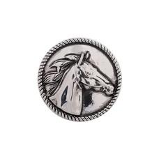 Clicks en Chunks | Click paard zilver