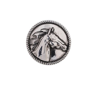 Clicks / Chunks Click paard zilver