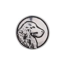 Clicks en Chunks | Click hond zilver