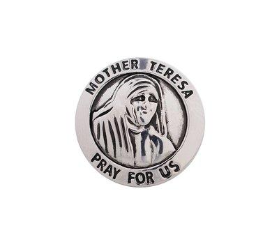 Clicks en Chunks | Click moeder Teresa pray for us voor clicks sieraden