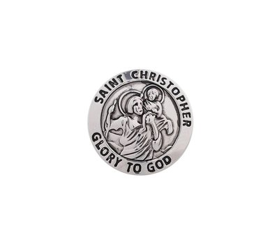 Clicks / Chunks Click Saint Christopher glory to god