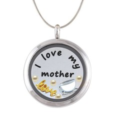 Complete Memory locket Moeder Memory Locket Ketting