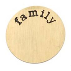Locket Disks Floating locket disk family goud XL