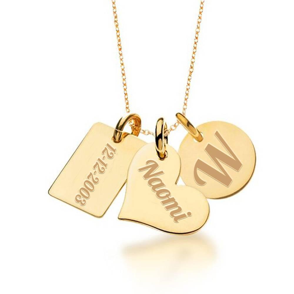 Fabulous Mama Ketting goud kopen? Kies Zelf je Tekst - Gratis graveren #ZZ79