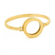 Armband voor munten Armband goud smal van Roestvrij Staal