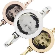 Foto Armband Graveer munt, Keuze in Zilver Rosé Goud en Goud