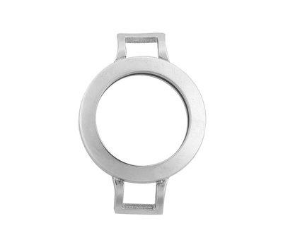 Armband voor munten Munthouder smal voor losse armband zilver van roestvrij staal