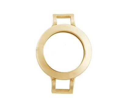 Armband voor munten Munthouder smal voor losse armband goud van roestvrij staal