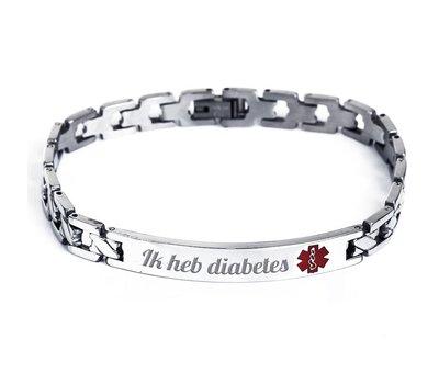 Medische alert armband Armband met medische gegevens