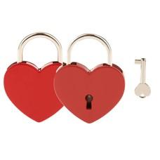 Slot Graveren Liefdesslot hart rood