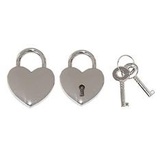 Liefdesslotjes Liefdesslot Graveren Hart Mini Zilver