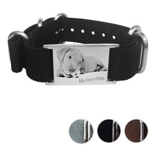 Armband met Foto Soul Graveer armband nylon smal
