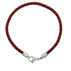 Armband voor Bedels Bedel Armband leer licht bruin