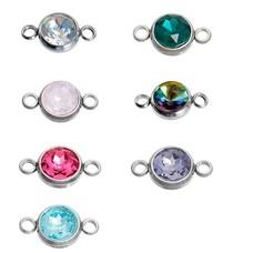 Gepersonaliseerde ketting Crystal steen voor de gepersonaliseerde Ketting en Armband